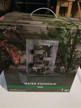 Ashland Lights Up Garden  In-Door Water Fountain NIB - $41.58