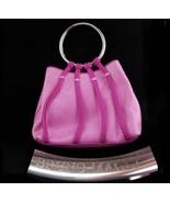 Vintage Bruno Magli Purse / STERLING handle / Rare handbag / Italy signed - $650.00