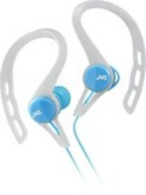JVC - Wired Ear Clip-On Earbud Headphones - Blue - $23.32