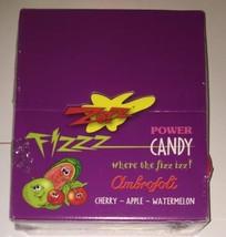 * Zotz Fizzy Candy 2 Pound Box Asst Cherry Appl... - $27.61