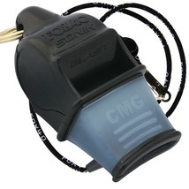 BLACK Fox 40 SONIK BLAST CMG Whistle Offiziell Coach Safety Rescue FREE ... - $9.04
