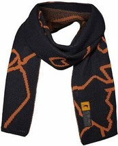 Musterbrand BLUE Counter-Strike Knit Scarf Merino Wool, US One Size - $29.21