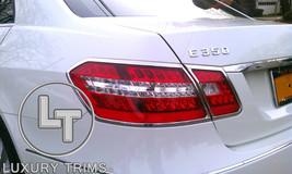 Mercedes E Class W212 4DR Chrome Taillight Trim Bezels by Luxury Trims 2... - $108.89