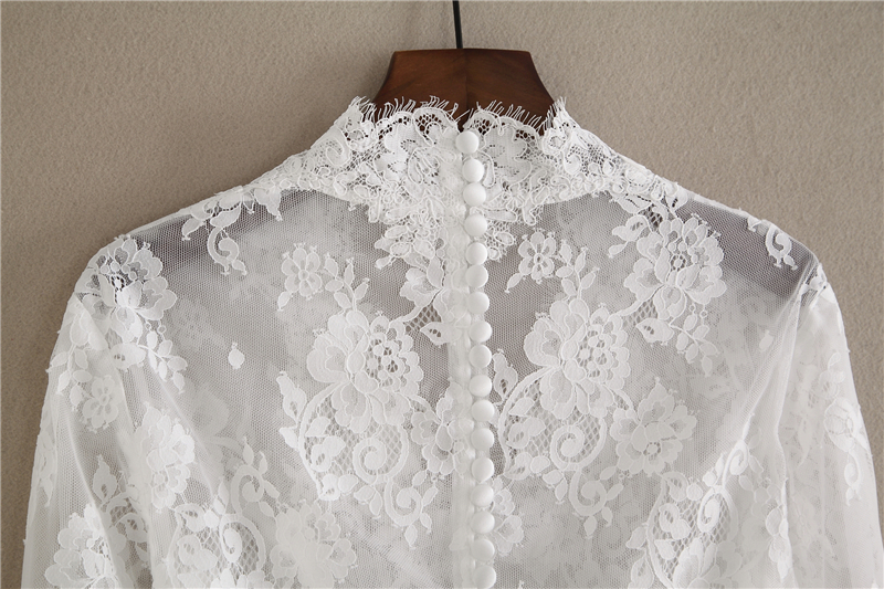 Long sleeve lace top 3