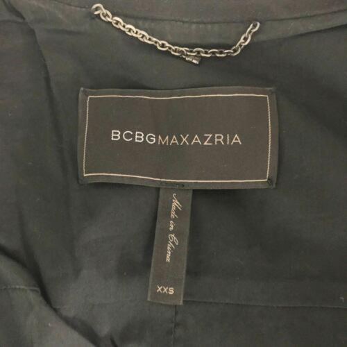 BCBG Maxazria Vest Damien Faux Suede zippers women size XXS image 5