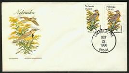 Nebraska-Goldenrod & Western Meadowlark, HF-Sealed Flap **ANY 4=FREE SHI... - $1.00