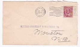 RECORD FOUNDRY & MACHINE CO. MONTREAL CANADA JULY 13 1905  - $1.98