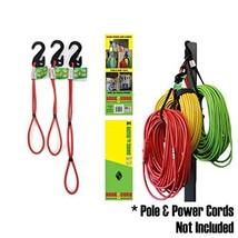Hook & Hang Storage & Organizer Cords PACK of 3 - Hook & Hang tools almo... - $24.62