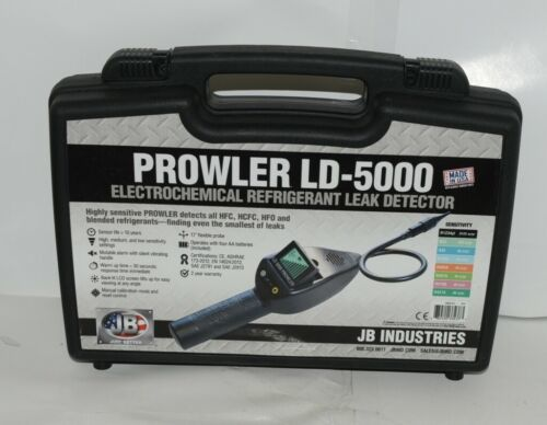 JB Industries Prowler LD5000 Electrochemical Refrigerant leak Detector