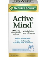 Nature's Bounty Active Mind, 60 Coated Caplets - $26.20