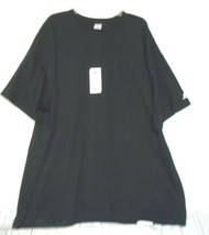 New Russell Athetic Black 3XL  Cotton  Short Sleeve T Shirt - $16.66