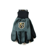 VEGAS GOLDEN KNIGHTS TEAM NHL SPORTS UTILITY GRIP GLOVES TWO TONE NWT - £6.39 GBP