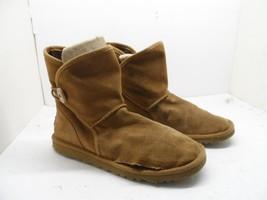 UGG Australia Girl's 1010290K Leona Slip on Boot Chestnut  Kids Size 4M - $21.37