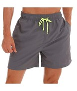 "SILKWORLD Men's Swim Trunks Quick (US L (Fits Waist 34.5"" - 36"",Tag XXL)... - $25.74"