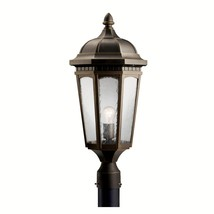 Kichler 9532RZ Courtyard Outdoor Post Light Rubbed Bronze - $239.99