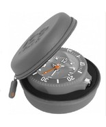 Ice Clock 9cm Silver Rubberised Travel Alarm Cl... - $25.02