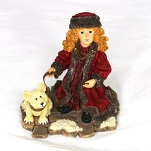 Boyds Yesterdays Child Victorian Series Moscow at Midnight 3564 Laura w/ Peary  - $14.84