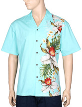 "Side Band Design ""Orchids Koloa""Hawaiian Aloha Casual Shirt/NWT/100% Cotton - $49.45+"