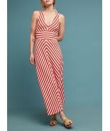 New Anthropologie Bisevo Maxi Dress by Maeve $148 ORANGE Size XS - $63.36