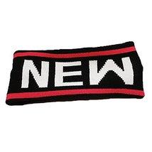Knitting Headbands Wide Headband for Sports or Fashion, NY Black