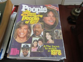 The 25 Most Intriguing People of 1977 , People Magazine , 12/26-1/2/78 ,... - $25.00