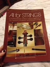 All Strings Comprehensions string Method Book 3 Violin Part Gerald Anderson - $12.34