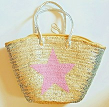Sale Basket sequined with pink star