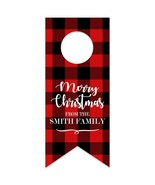 Merry Christmas Party Water Bottle Hang Tag - $26.24