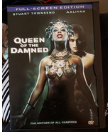 Queen of The Damned dvd Vampire movie sci fi shows full screen - $4.99
