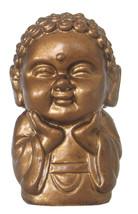 Pocket Buddha Happiness Gold Buddhism Figurine Toy - $4.99