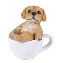 Labrador Puppy Adorable Mini Teacup Pet Pals Puppy Collectible Figurine ... - £11.38 GBP
