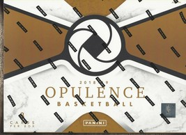 2018-19 PANINI OPULENCE BASKETBALL FACTORY SEALED HOBBY BOX - $2,475.00