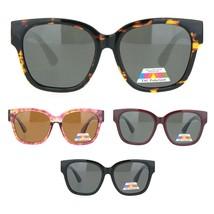Womens Polarized Lens Designer Horn Rim Diva Sunglasses - $12.95