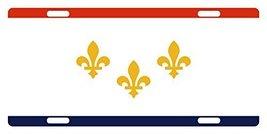 New Orleans Flag Custom License Car Truck Plate National Patriotic Emblem Origin - $11.87