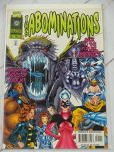 The Abominations #1 1996 Marvel Comic Bagged and Boarded - C2719 - £1.60 GBP