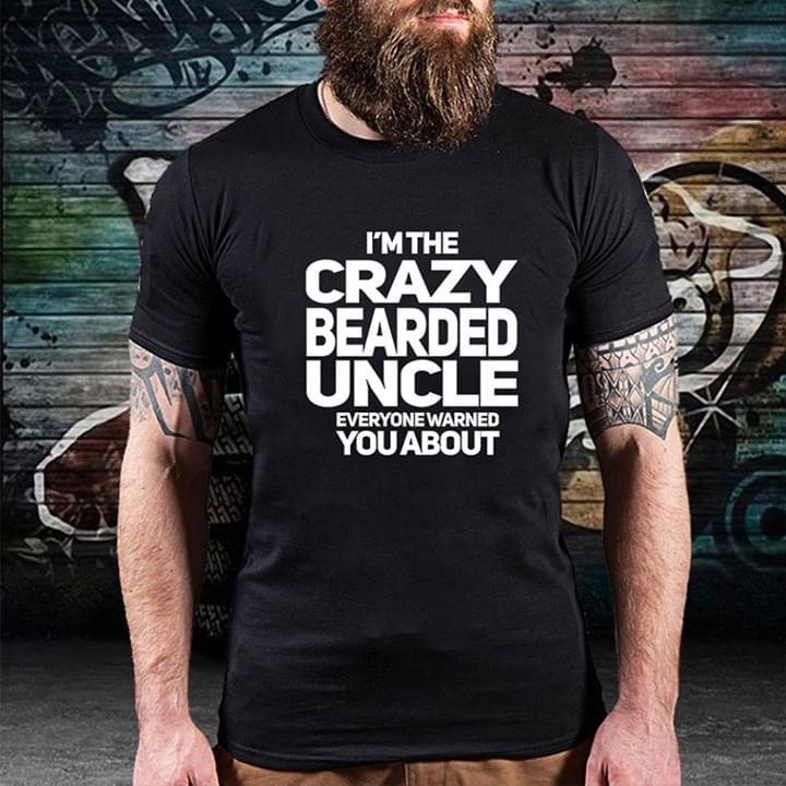 Crazy bearded uncle