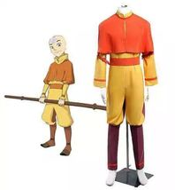 The Last Airbender Bumi Aang Cosplay Halloween Uniform - $95.99+