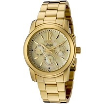 Invicta Women's 0466 Angel Collection 18k Gold-Plated Stainless Steel Watch - $107.69