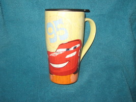 RARE Disney Store Lightning McQueen Cup.  Brand New. - $24.74