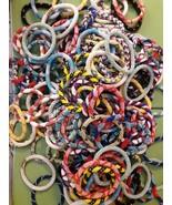 100 Wholesale Nepal glass beaded Bracelet, Handmade Bracelet Crochet Bra... - $175.00