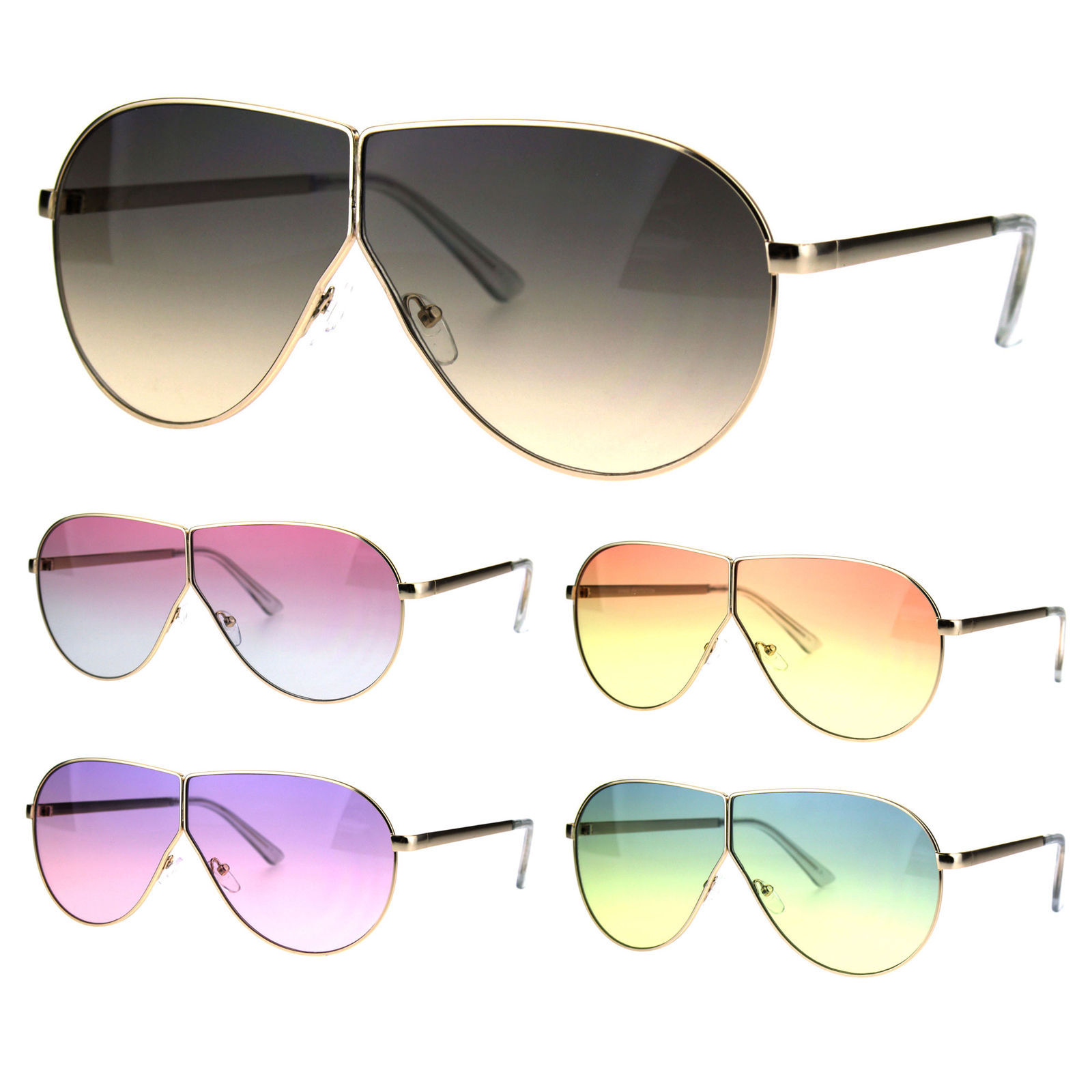 a2f9a65ac7 Oversize Gradient Oceanic Hippie Lens Metal and 50 similar items