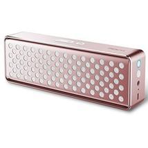 ROCK Deep Bass Hands-Free Wireless Bluetooth 4.0 Pink Speaker With NFC a... - $73.00
