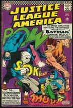 JUSTICE LEAGUE OF AMERICA #46-1966-BATMAN/SUPERMAN VG - $37.83