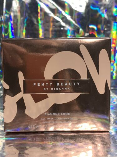 New In Box Fenty Diamond Bomb COGNAC CANDY Bronze Shimmer Bomb Pristine!