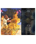 NEW SEALED 2017 Star Wars Cookbook + 3 Cookie Cutters Yoda Darth Vader R2D2 - $21.35