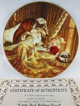 Knowles Classic Fairy Tales Plate Goldilocks and the Three Bears Cert # ... - $17.81