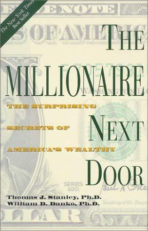 Primary image for The Millionaire Next Door: The Surprising Secrets of America's Wealthy Stanley,
