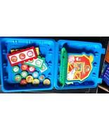 Fisher Price Barnyard Bingo Preschool Animal Game Complete in Blue Case - $28.00