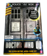 Doctor Who Micro Figure Set BBC 50th Anniversary Eleven Doctors Characte... - $40.19