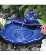 Spitting Fish Ceramic Solar Fountain (gf) - $594.00
